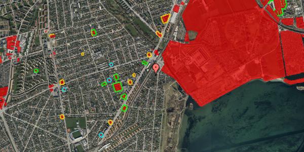 Jordforureningskort på Beringgårdsvej 5, 2650 Hvidovre