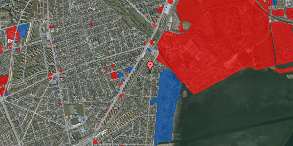 Jordforureningskort på Beringgårdsvej 15B, 2650 Hvidovre