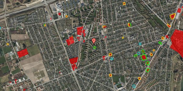 Jordforureningskort på Berners Vænge 17, 2. th, 2650 Hvidovre