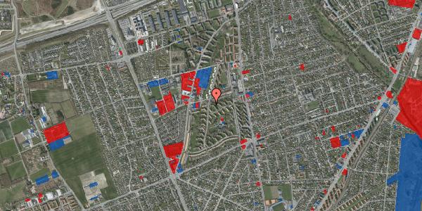 Jordforureningskort på Berners Vænge 34, 1. th, 2650 Hvidovre