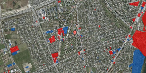Jordforureningskort på Bibliotekvej 13, 2650 Hvidovre