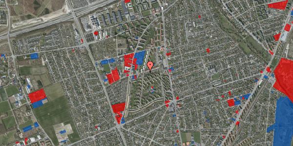 Jordforureningskort på Bibliotekvej 33, 2650 Hvidovre