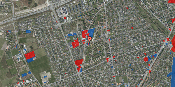 Jordforureningskort på Bibliotekvej 51, 2650 Hvidovre