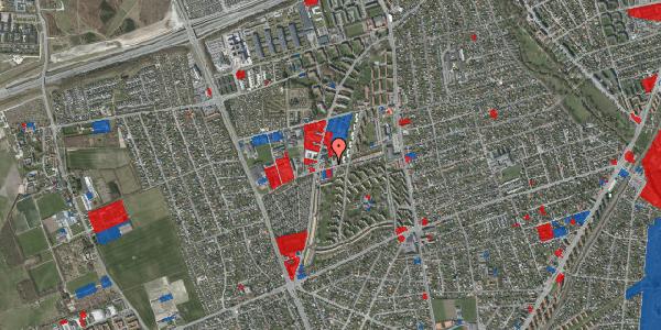 Jordforureningskort på Bibliotekvej 52, 2650 Hvidovre
