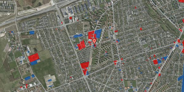 Jordforureningskort på Bibliotekvej 55A, 2650 Hvidovre