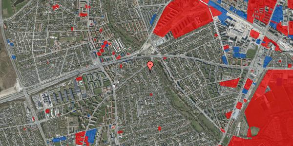 Jordforureningskort på Birke Alle 8, 2650 Hvidovre