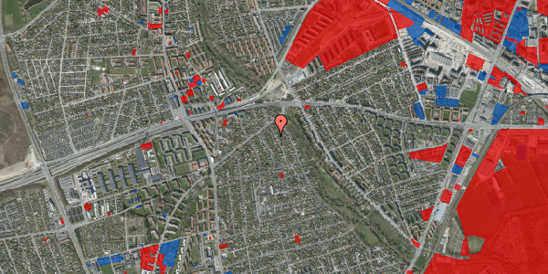Jordforureningskort på Birke Alle 8A, 2650 Hvidovre