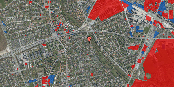 Jordforureningskort på Birke Alle 13, 2650 Hvidovre