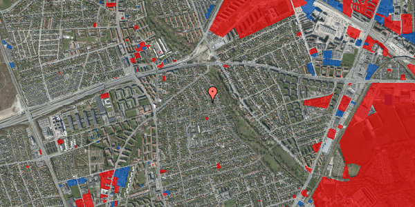 Jordforureningskort på Birke Alle 20, 2650 Hvidovre