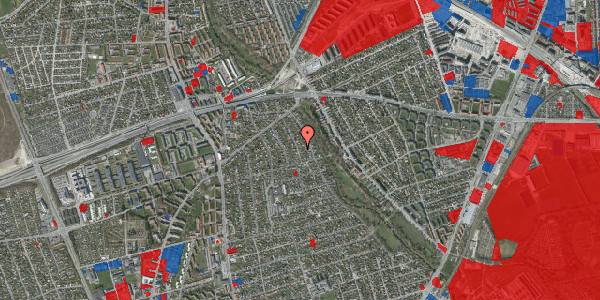 Jordforureningskort på Birke Alle 21, 2650 Hvidovre