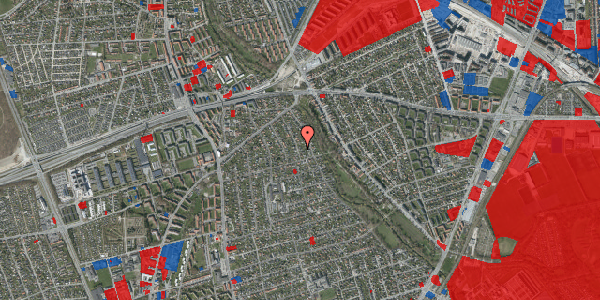 Jordforureningskort på Birke Alle 23, 2650 Hvidovre
