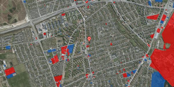 Jordforureningskort på Bjeverskov Alle 1, 2650 Hvidovre