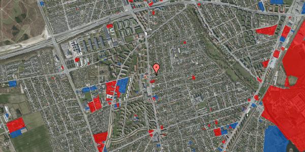 Jordforureningskort på Bjeverskov Alle 3, 2650 Hvidovre