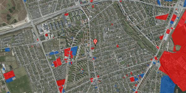 Jordforureningskort på Bjeverskov Alle 4, 2650 Hvidovre