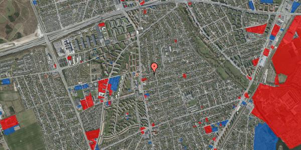 Jordforureningskort på Bjeverskov Alle 12, 2650 Hvidovre