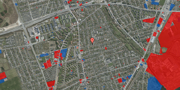 Jordforureningskort på Bjeverskov Alle 15, 2650 Hvidovre