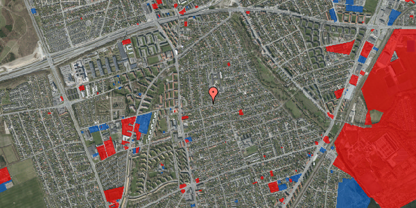 Jordforureningskort på Bjeverskov Alle 17, 2650 Hvidovre