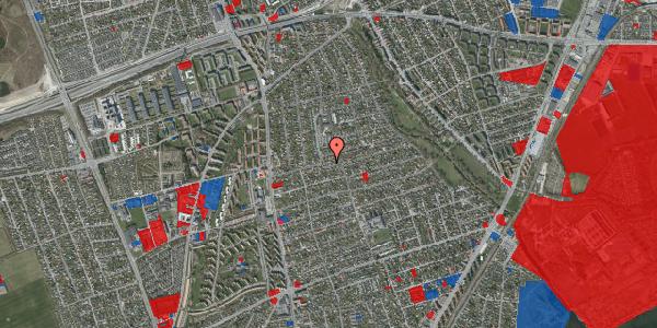 Jordforureningskort på Bjeverskov Alle 21, 2650 Hvidovre