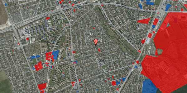 Jordforureningskort på Bjeverskov Alle 36, 2650 Hvidovre