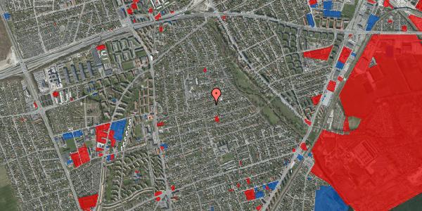 Jordforureningskort på Bjeverskov Alle 37, 1. , 2650 Hvidovre