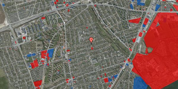 Jordforureningskort på Bjeverskov Alle 40, 2650 Hvidovre