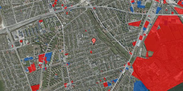 Jordforureningskort på Bjeverskov Alle 43, 2650 Hvidovre