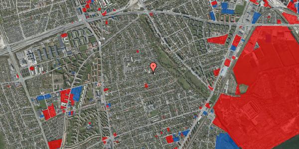 Jordforureningskort på Bjeverskov Alle 45, 2650 Hvidovre