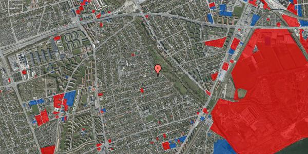 Jordforureningskort på Bjeverskov Alle 55, 2650 Hvidovre
