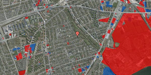 Jordforureningskort på Bjeverskov Alle 60, 2650 Hvidovre