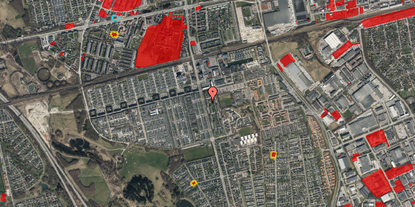Jordforureningskort på Albertslundvej 71, 1. th, 2625 Vallensbæk