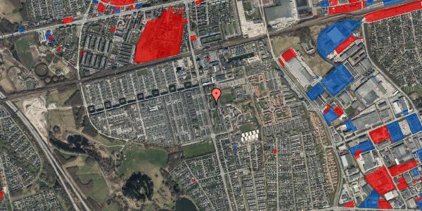 Jordforureningskort på Albertslundvej 83, st. mf, 2625 Vallensbæk