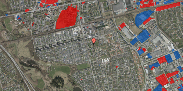 Jordforureningskort på Albertslundvej 87, st. tv, 2625 Vallensbæk