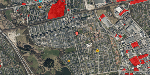 Jordforureningskort på Albertslundvej 95, st. th, 2625 Vallensbæk