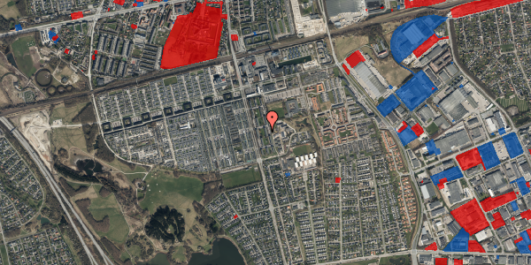 Jordforureningskort på Albertslundvej 101, st. mf, 2625 Vallensbæk