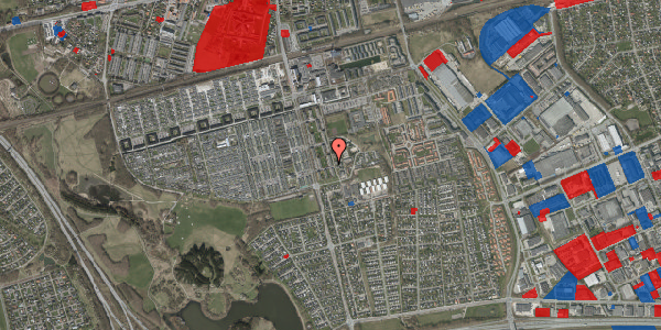 Jordforureningskort på Albertslundvej 115, st. tv, 2625 Vallensbæk