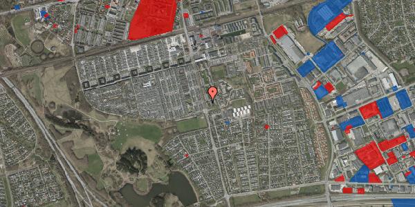 Jordforureningskort på Albertslundvej 117, st. mf, 2625 Vallensbæk