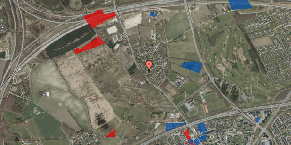 Jordforureningskort på Engvej 9D, 2625 Vallensbæk