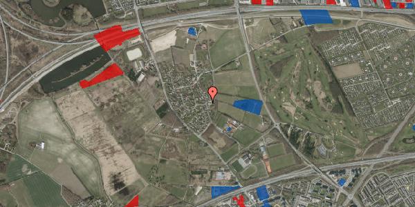 Jordforureningskort på Højrupgårdsvej 2, 2625 Vallensbæk