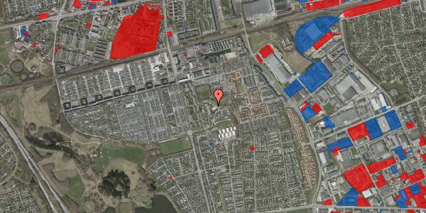 Jordforureningskort på Løkkekrogen 11C, 2625 Vallensbæk