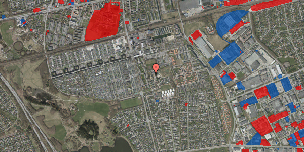 Jordforureningskort på Løkkekrogen 11F, 2625 Vallensbæk