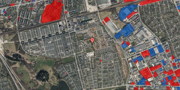 Jordforureningskort på Løkkekrogen 34, 2625 Vallensbæk
