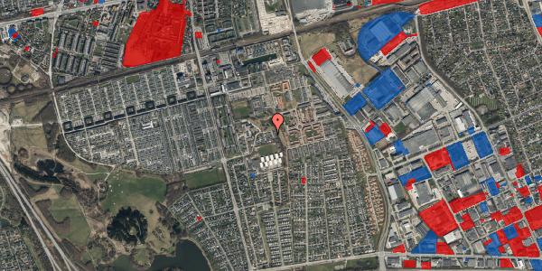 Jordforureningskort på Løkkekrogen 36, 2625 Vallensbæk