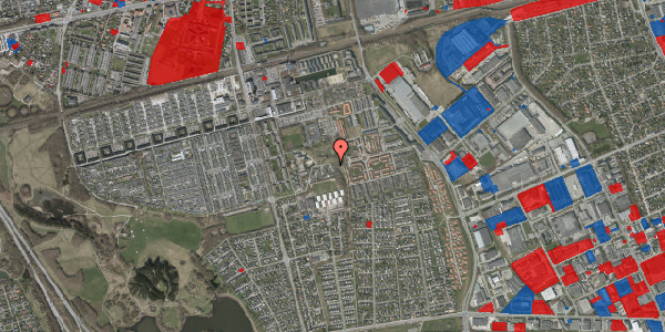 Jordforureningskort på Løkkekrogen 52, 2625 Vallensbæk