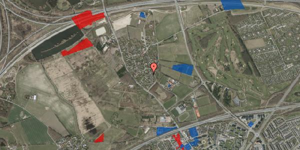 Jordforureningskort på Møllestensvej 22, 2625 Vallensbæk