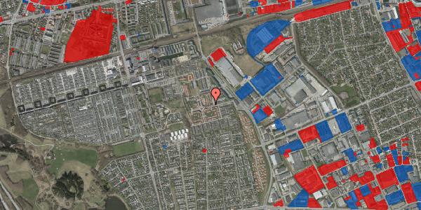 Jordforureningskort på Nellikevænget 2, 2625 Vallensbæk