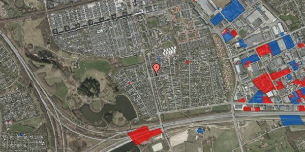 Jordforureningskort på Pilehavevænge 1, 2625 Vallensbæk