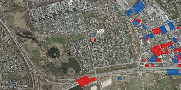 Jordforureningskort på Pilehavevænge 3, 2625 Vallensbæk