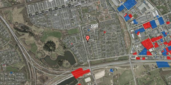 Jordforureningskort på Pilehavevænge 4, 2625 Vallensbæk