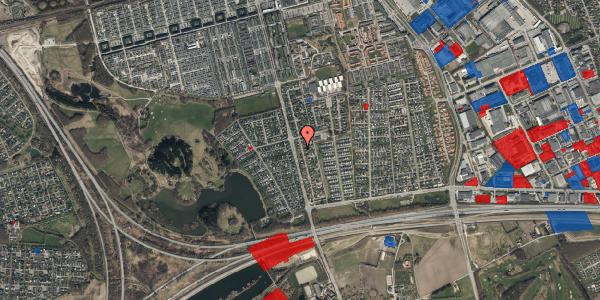 Jordforureningskort på Pilehavevænge 8, 2625 Vallensbæk