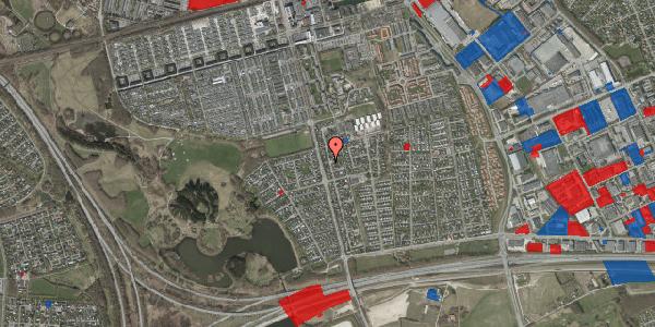 Jordforureningskort på Pilehavevænge 9, 2625 Vallensbæk